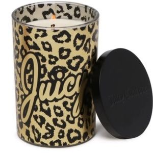 🆕 Juicy Couture Vanilla Glass Jar Candle 19oz